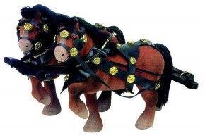 Koňský potah s postroji Z431