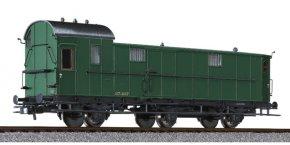 Packwagen 3-achs., Pw3  37.407, SNCB, Ep.II